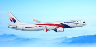 Malaysia Airlines Boeing 737 MAX Malásia
