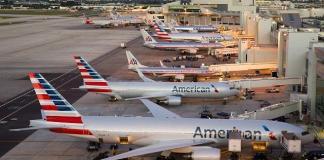 American Airlines Viagens Pandemia Aeroporto