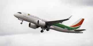 Airbus A320neo Air Côte d'Ivoire Costa do Marfim