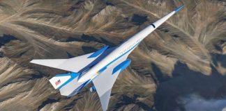 avião supersônico Air Force One