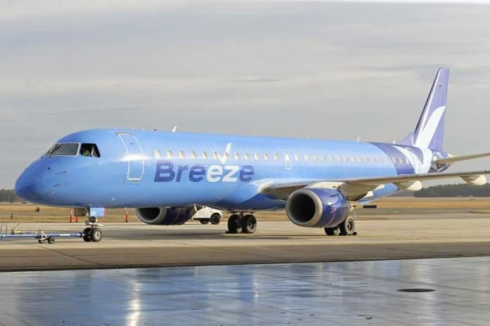 Breeze Airways Embraer