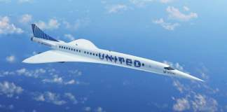 Avião Supersônico United Airlines BOOM