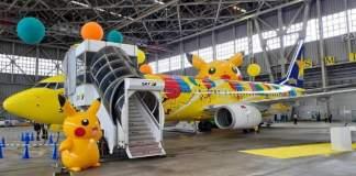 Boeing 737-800 Pokémon Japão Skymark