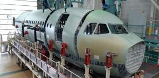 Airbus A321XLR Montagem