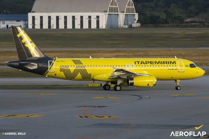 Itapemirim Airbus A320