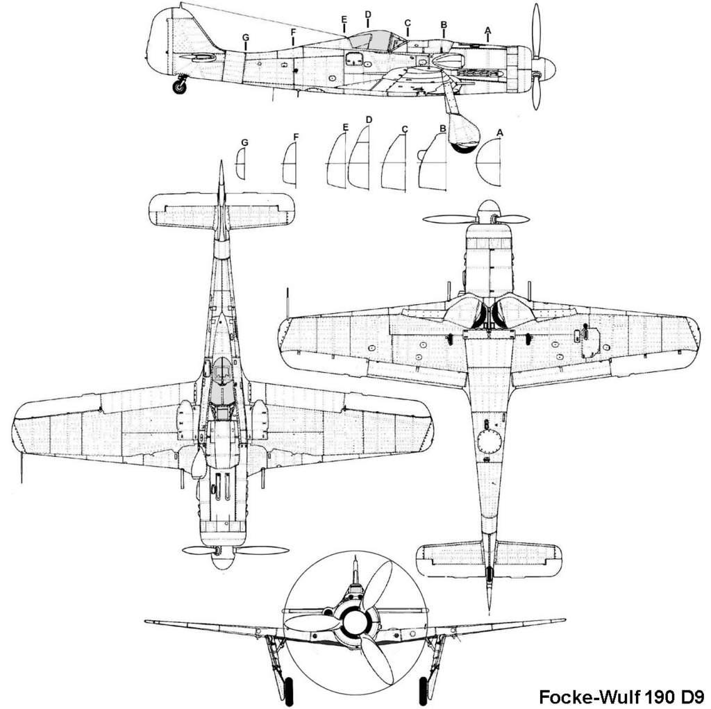 Fw190 D9 Plans