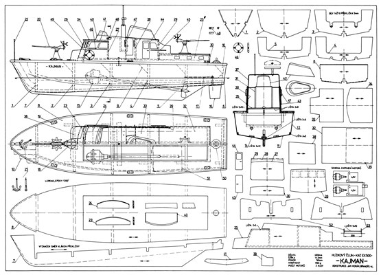 Printable Rc Boat Plans