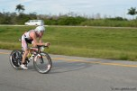 Ben Collins was leading at the turn around