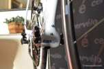 The BBright standard results in excellent power transfer. The Di2 battery mount means that this is a machine that can be upgraded into the bike of your dreams.