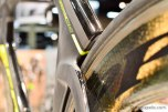 Seat tube and seat stays