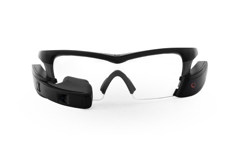 Recon Jet - Black Frame - Clear Lens
