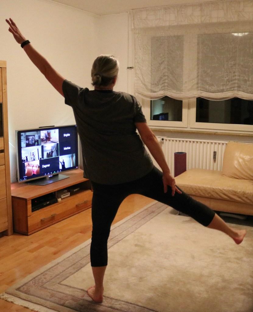 Ausdauer, Koordination und Stabilität: BodyFit ist ein Training für den ganzen Körper. Fotonachweis: Ilka Jakob