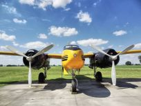 The Douglas A-26 had been modified for service in Canada as a agricultural spray aircraft. All the specialty gear for that role had been removed. It appeared exactly as I remembered it from my first encounter almost 10 years ago.