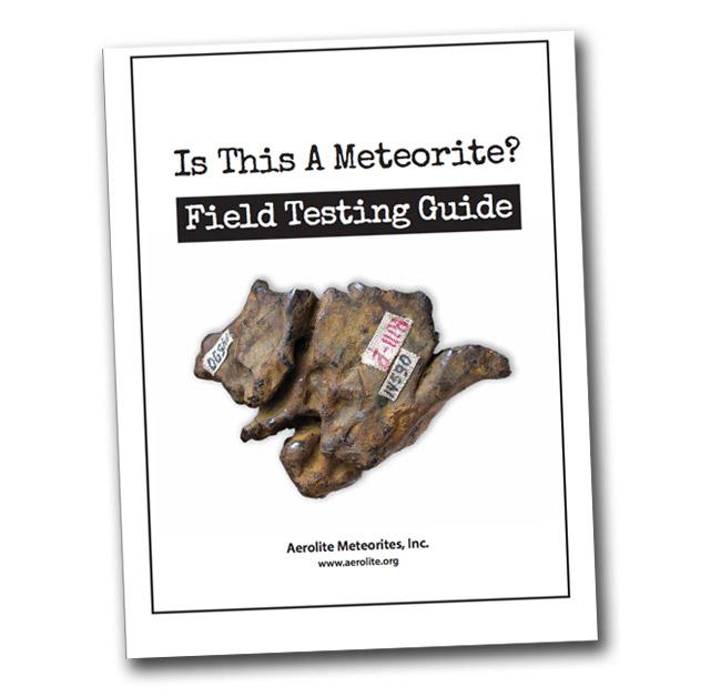 Meteorite Field Testing Guide
