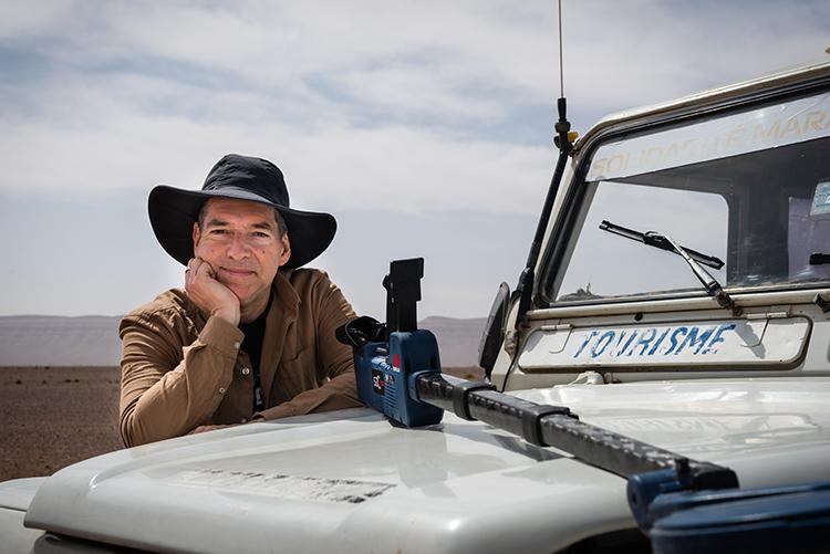 Geoff Notkin, meteorite hunter