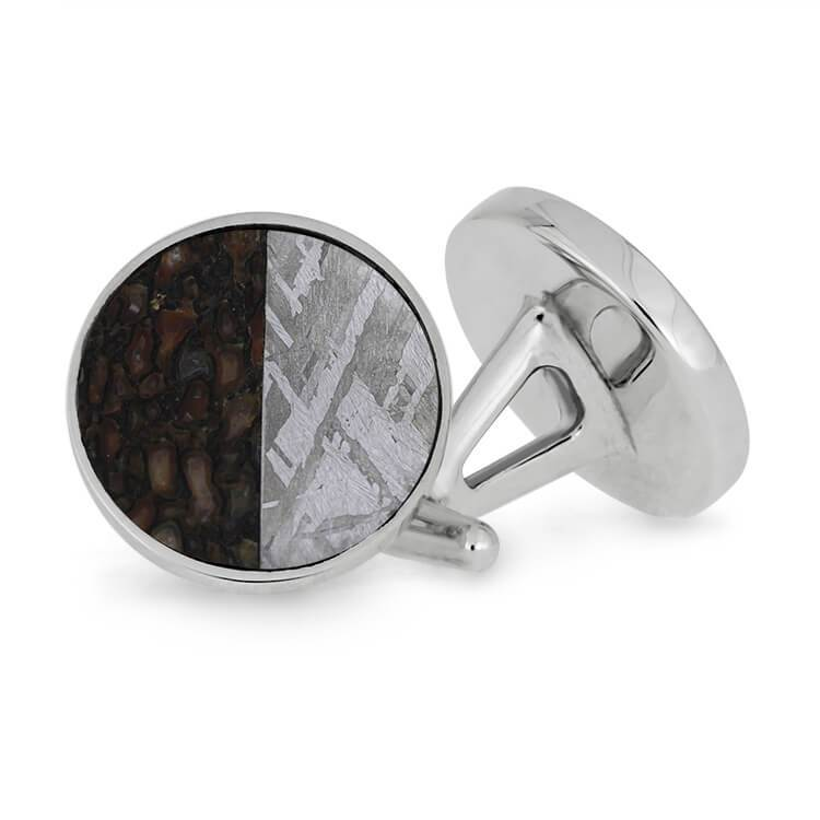 Dinosaur and Meteorite Cufflinks SIG3046 JBJ