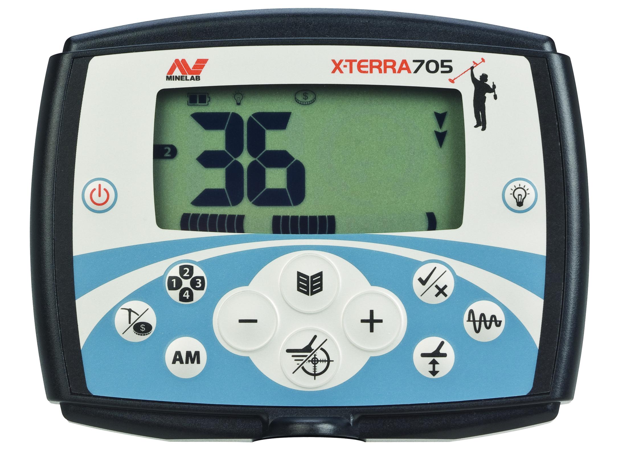Minelab X-TERRA 705 Metal Detector