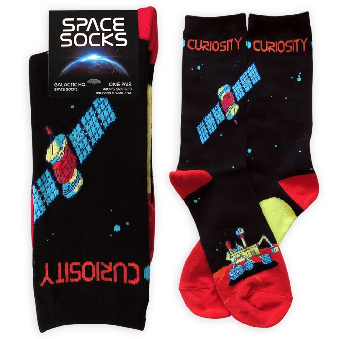 Mars Curiosity Socks 3