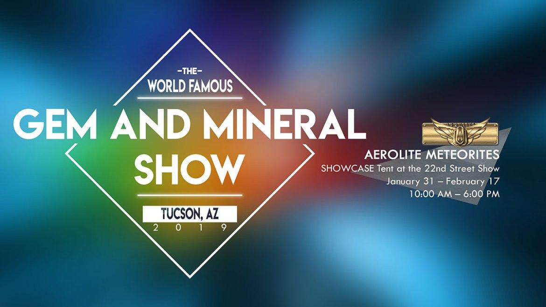 Aerolite Meteorites Tucson Gem Show 2019