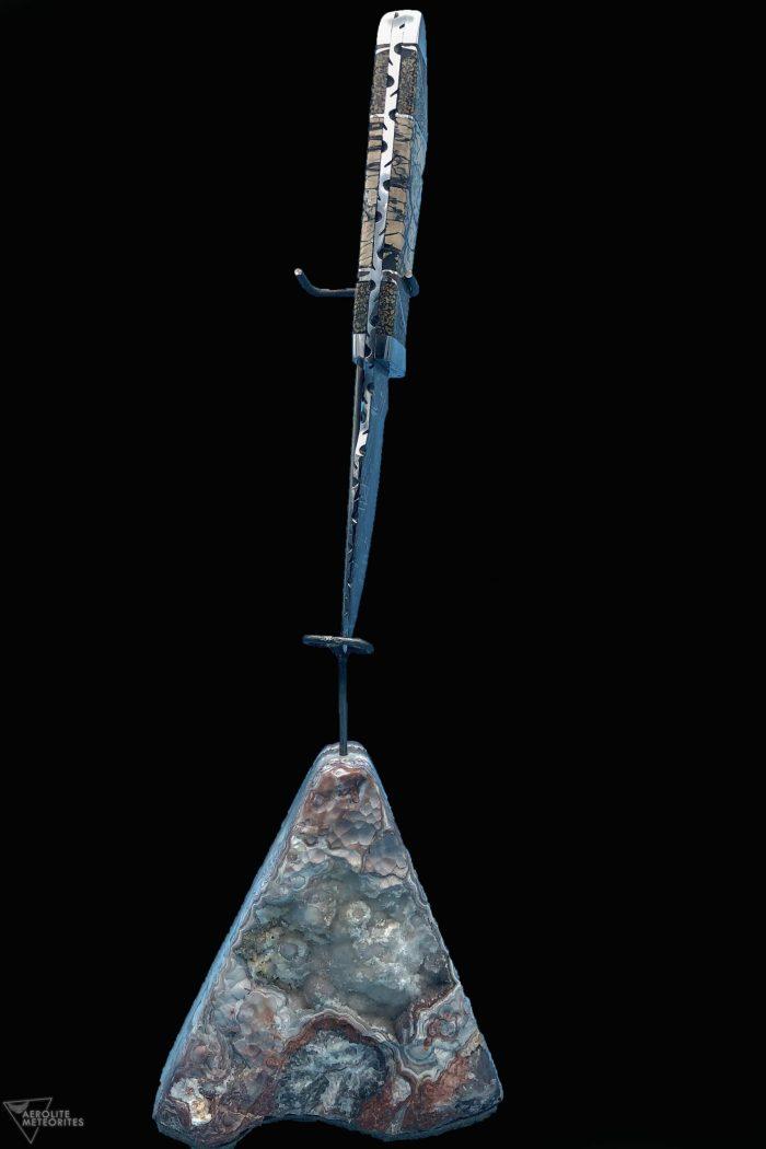 meteorite dinosaur bone knife blade
