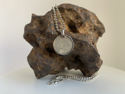 iron meteorite necklace