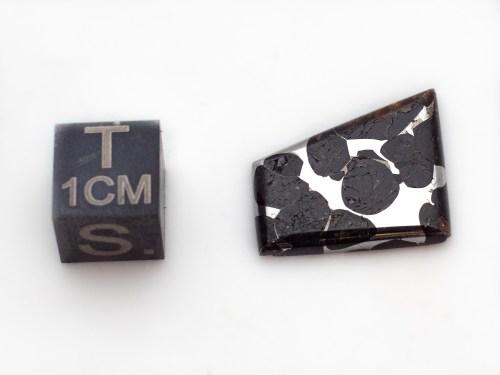 pallasite meteorite cab 2.7g