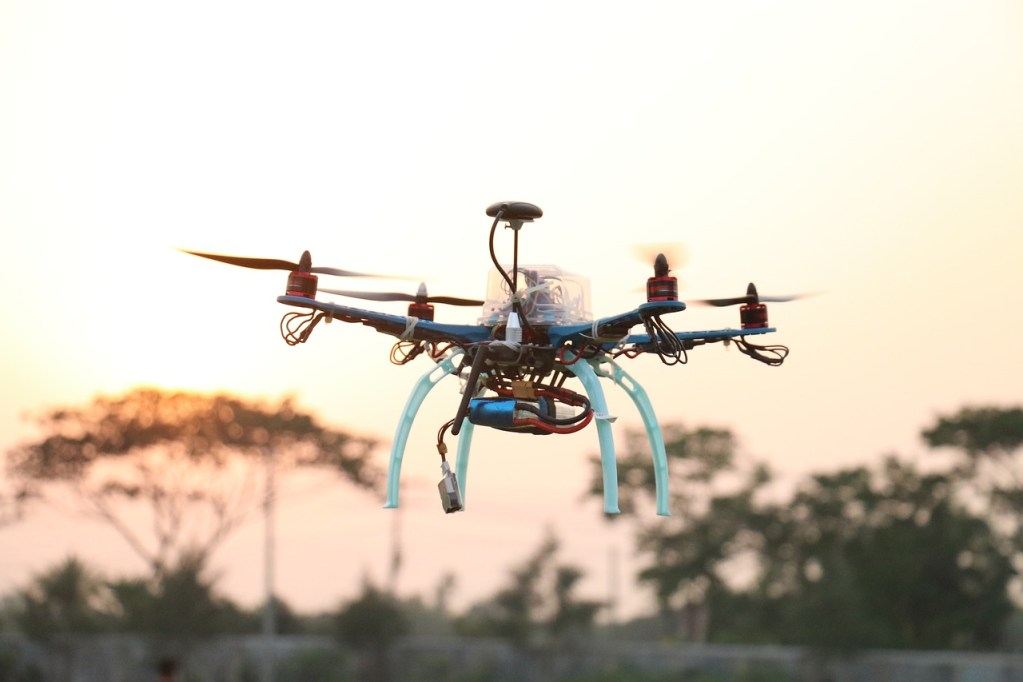 drone, quadcopter, technology