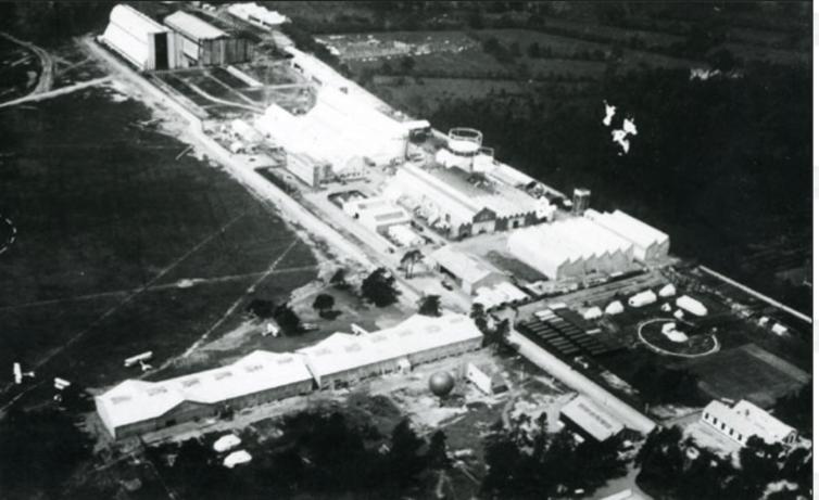La Royal Aircraft Factory en Farnborough