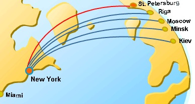 baltia-air-lines-route-map