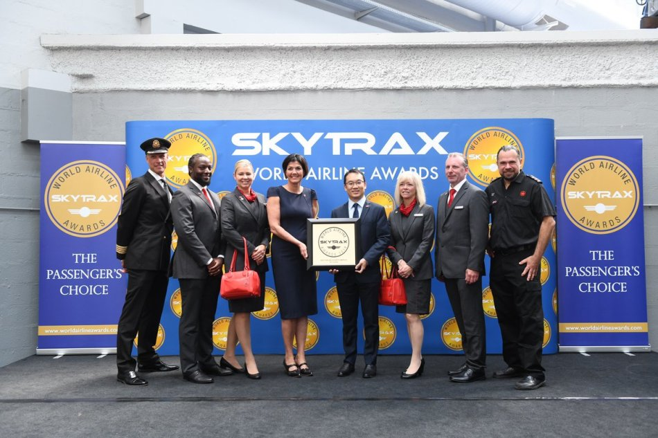 Air Canada la Mejor Aerolínea de Norteamérica en los Premios World Airline Awards 2019 de Skytrax