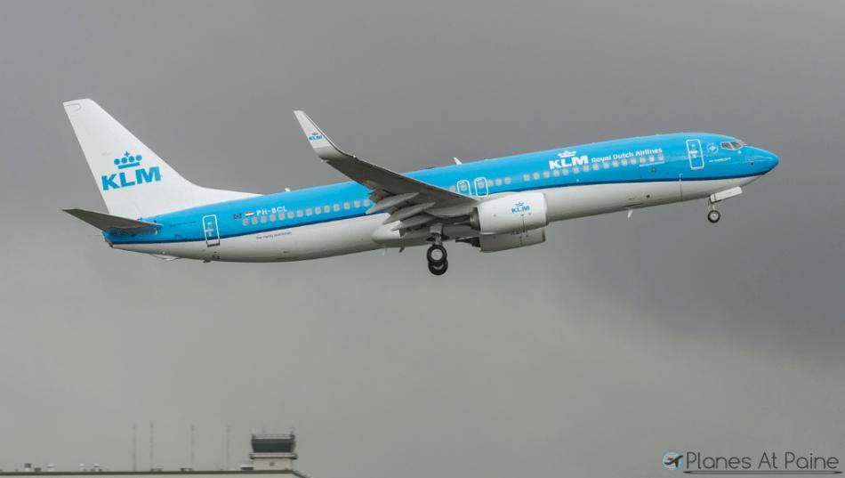 KLM-BOEING-737-800-PH-BCL