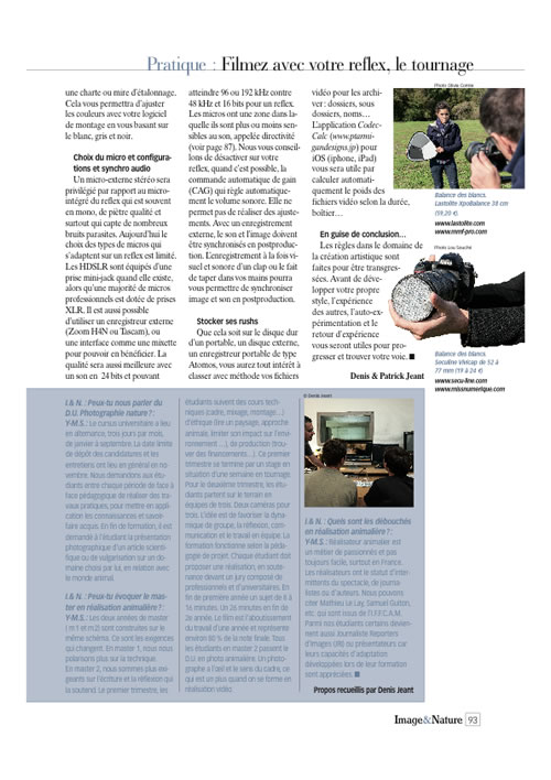 Article video2  image & nature n°56 page 4