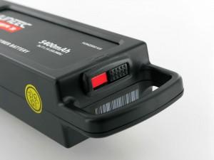 Indicateur de statut de charge sur une batterie