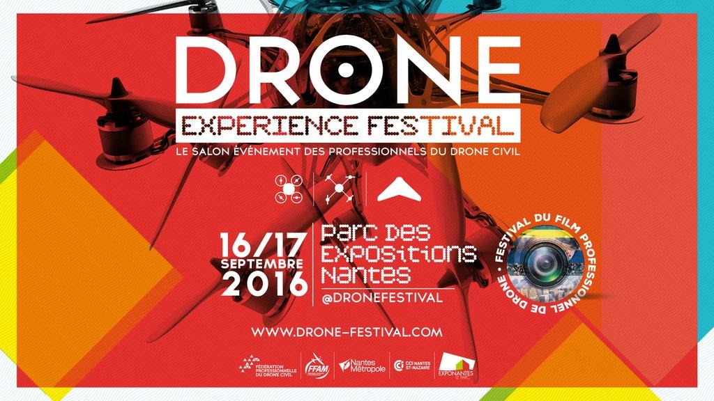 Affiche drone experience festival 2016