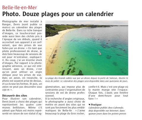 article Le Telegramme 26 octobre 2016