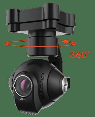 Capteur 4K 360°