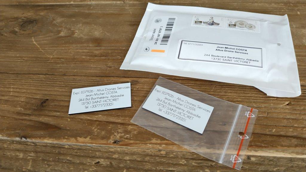 Envoi à petit prix en lettre avec suivi