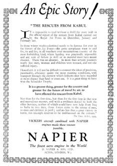 ¡Una historia épica! – Los rescates de Kabul Flight, 25 de octubre de 1929 (www.flightglobal.com)