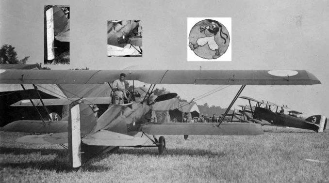 Le Potez 25 n°38 du Parc 31 souvent piloté par victor Lasalle