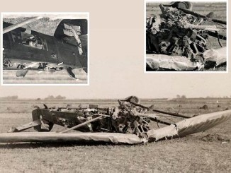 Michel Détroyat a eu de la chance de sortir vivant de cet avion.