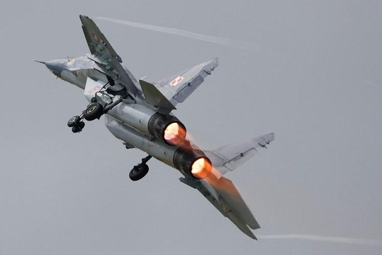 © Shaun Schofield - Polish Air Force • Mikoyan-Gurevich MiG-29 • RAF Yeovilton, UK