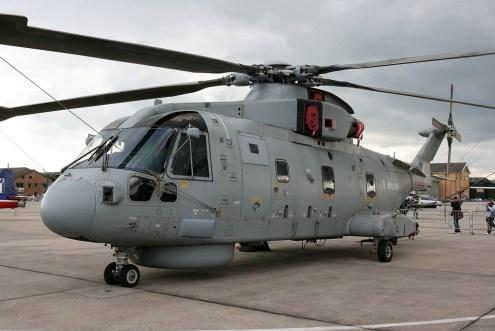 © Mark Graham - Royal Navy • AgustaWestland EH-101 Merlin • RAF Yeovilton, UK