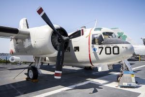 © Adam Duffield • Grumman C-1A Trader 146036 • USS Midway Museum
