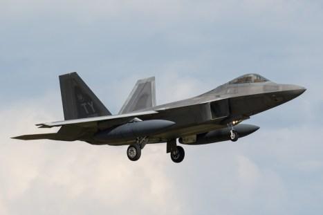 © Adam Duffield - Lockheed F-22A Raptor 05-4091 - F-22 Raptor Deployment to RAF Lakenheath