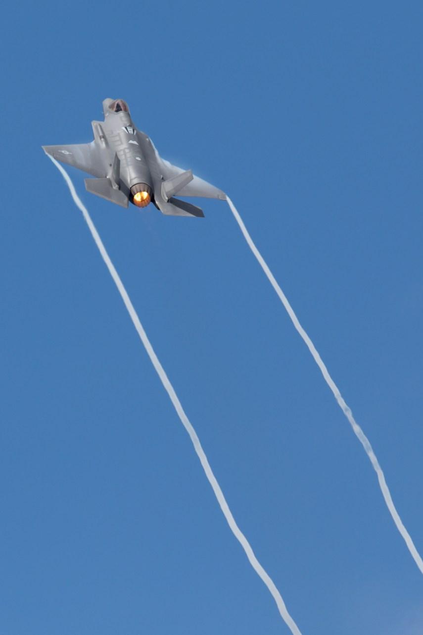 © Michael Lovering - USAF F-35A Lightning II - Royal International Air Tattoo 2016