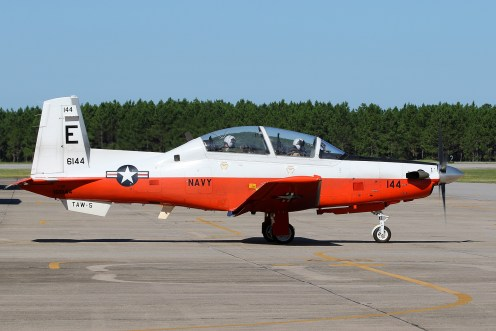© Mark Forest - Beechcraft T-6B Texan II 166144 TAW-5 - US Naval Air Training Command