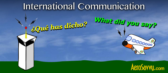 How pilots communicate in other countries