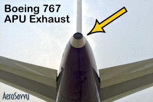 767APU-exhaust
