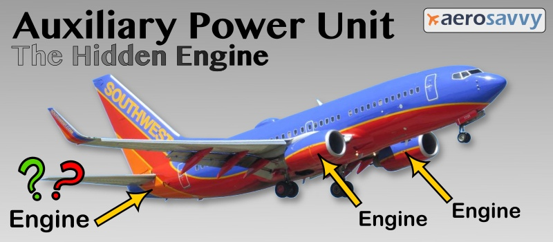 Your Airliner Has a Hidden Engine - AeroSavvy