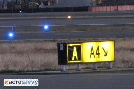 Taxi Sign - Airport Lights - AeroSavvy